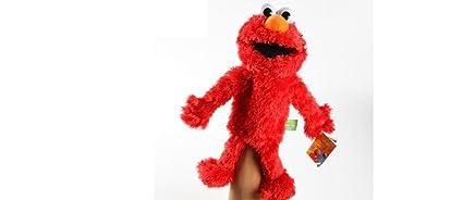"Sesame Street Elmo Plush Puppet 14"" by Sesame Street"