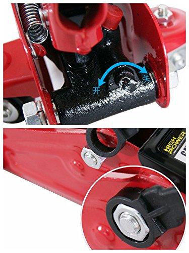 Trolley Jack//Car Jack 2 Ton High-Pressure Hydraulic Lifting Floor Car Van Garage Heavy Duty 2000kg,Pusheng