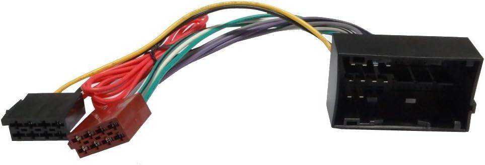 AERZETIX Adaptador Cable ISO para radio de coche C4329