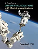 A First Course in Differential Equations with Modeling Applications 11th Edition