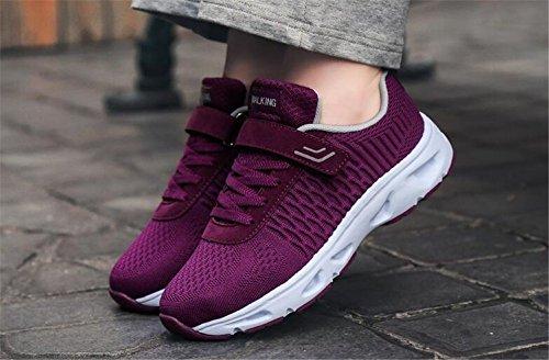 Shoes Antideslizantes Mediana Edad De Deporte Mujer Transpirables Gym Ligeros Zapatillas Summer E Amantes Zapatos Old para Zapatos Y Fall De Zapatillas De XqfZAO