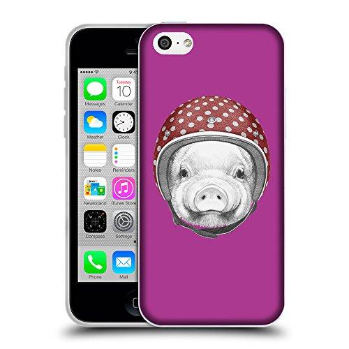 GoGoMobile Coque de Protection TPU Silicone Case pour // Q05340621 Casque tirelire byzantin // Apple iPhone 5C