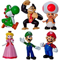The model of Super Mario six figure as a set