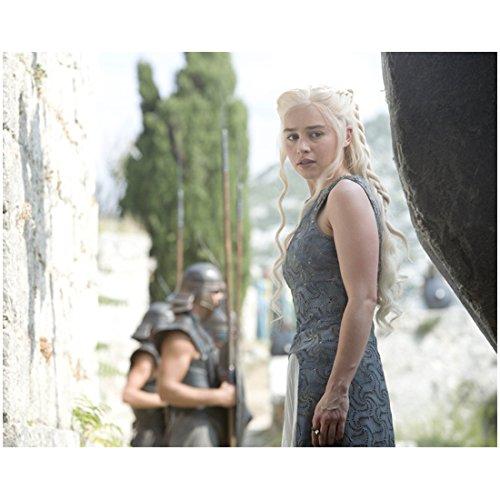 Daenerys Targaryen in Swirly Blue Dress - 8x10 Photograph / Photo - Game of - Swirly Snow