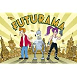 Futurama Double Vision Grand poster cartoon TV 61par 91.5cm