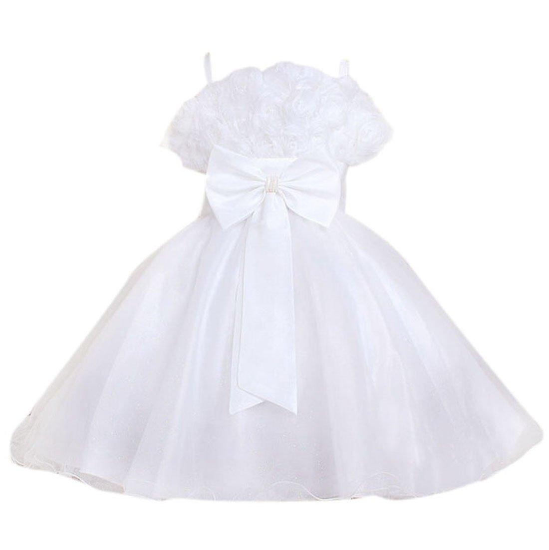 Fancy Dress, Girls Satin Dresses For Communion Holiday Travel Birthday 7-8Yrs