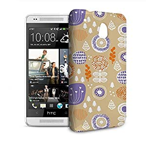 Phone Case For HTC 601e (One Mini) M4 - Autumn Garden Designer Lightweight by lolosakes