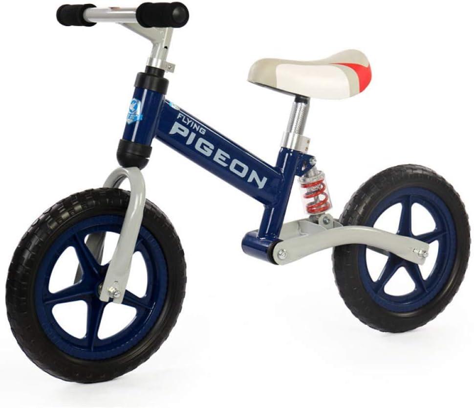 Hejok Bicicleta De Equilibrio Amarilla - Bicicleta De Equilibrio para NiñOs, para BebéS Coche con Carro Deslizante para NiñOs Rueda Doble Pedal Bebé 1-3 A 6 AñOs Scooter, Section B: Amazon.es: Deportes