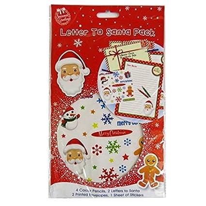 Amazon christmas letter to santa pack toys games christmas letter to santa pack spiritdancerdesigns Choice Image