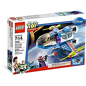Disney Lego Toy Story 7593: Buzz's Star Command Spaceship