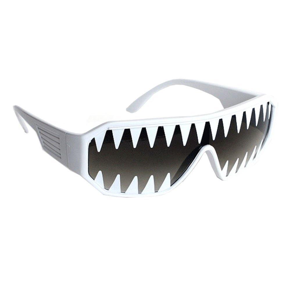 Macho Wrestler Mini Shark Teeth Shield Sunglasses MPS-15066-S
