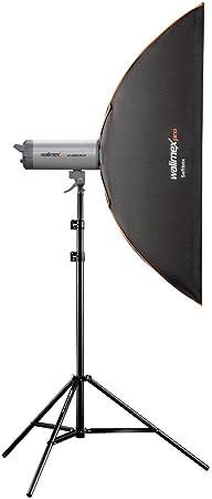 Walimex Pro Softbox Plus Orange Line 30x120 Cm Für Kamera