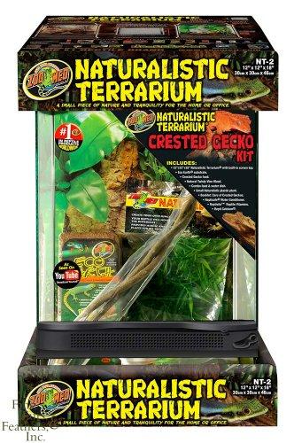 Naturalistic Terrarium - Zoo Med Naturalistic Terrarium - Crested Gecko Kit