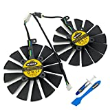 PLD10010S12H 95mm 12V 0.30AMP Graphics Card Cooling Fan For ASUS ROG STRIX GTX 1050 1050Ti RX470 RX570 RX580 POSEIDON GTX 1080Ti P11G GAMING CERBERUS-GTX 1070Ti Video Card fans, with Thermal Paste
