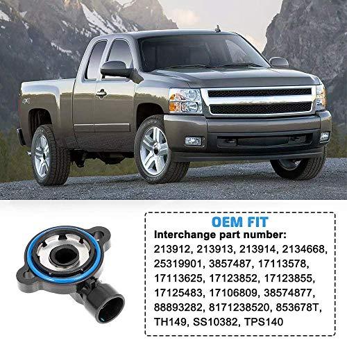 TPS Throttle Position Sensor TH149 For 1996-1999 GMC Chevrolet C//K1500 2500 3500