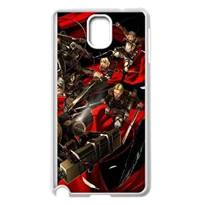 Attack On Titan Samsung Galaxy Note 3 Cell Phone Case White 91INA91626547
