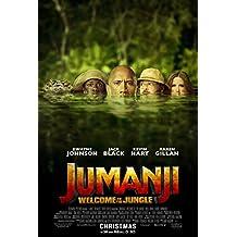 JUMANJI WELCOME TO THE JUNGLE MOVIE POSTER 2 Sided ORIGINAL FINAL 27x40 DWAYNE JOHNSON
