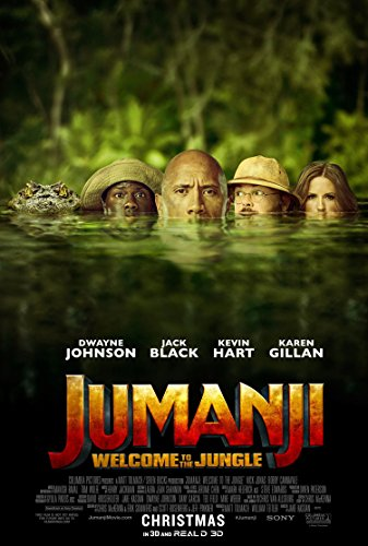 JUMANJI WELCOME TO THE JUNGLE MOVIE POSTER 1 Sided ORIGINAL
