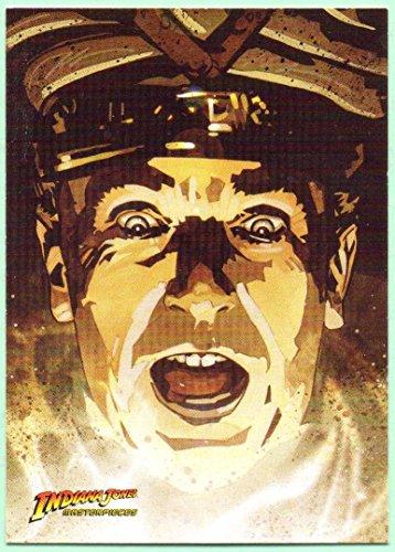 2008 Topps Indiana Jones Masterpieces Base Card #10 - Ren Belloq
