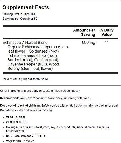Echinacea El sello de oro, 100 Cápsulas - Camino de la Naturaleza: Amazon.es: Salud y cuidado personal