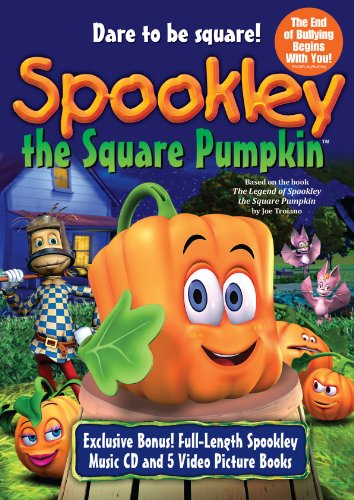 Spookley the Square Pumpkin DVD + CD - New Square Store