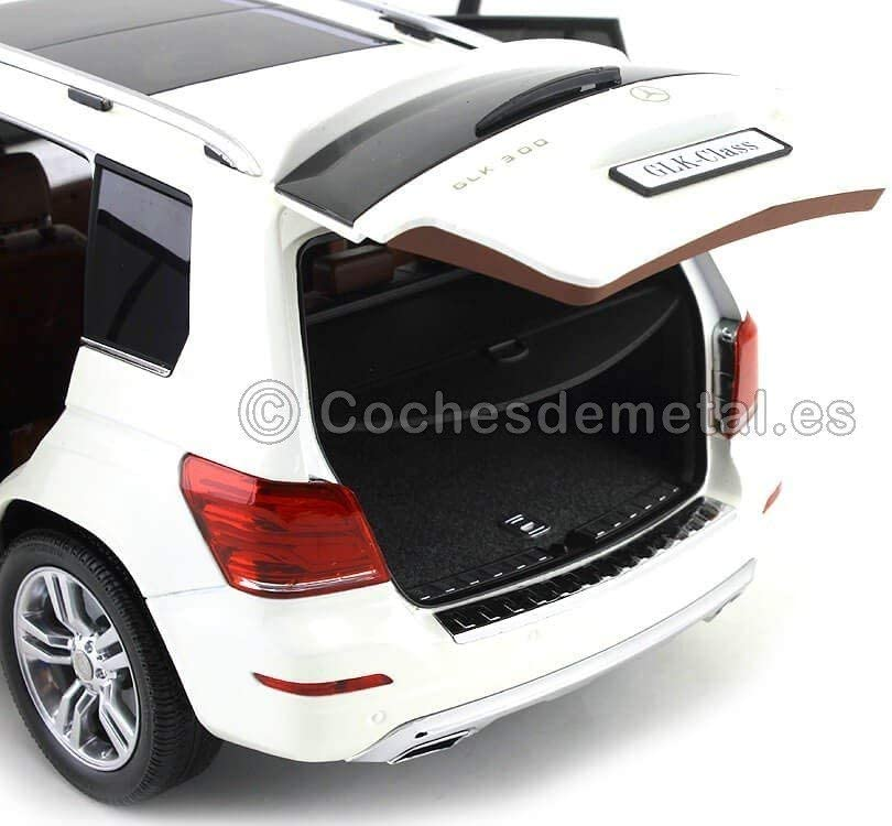 Welly 1:18 Mercedes GLK-Klasse Fertigmodell Modellauto 2013 weiss