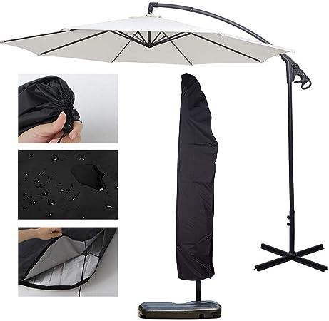 XingYue Direct Cubiertas para sombrillas Cubierta para sombrilla, jardín Exterior Escudo para Patio Banana Impermeable Cubierta para sombrilla en voladizo: Amazon.es: Hogar