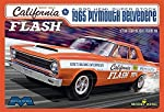 "Moebius 1222 ""Butch"" Leal's California Flash A-990 HEMI Super Stock 1965 Plymouth Belvedere 1:25 Scale Plastic Model Kit - Requires Assembly from Moebius Models"