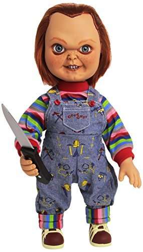 Amazoncom Childs Play 15 Inch Good Guy Chucky Doll With Sound By