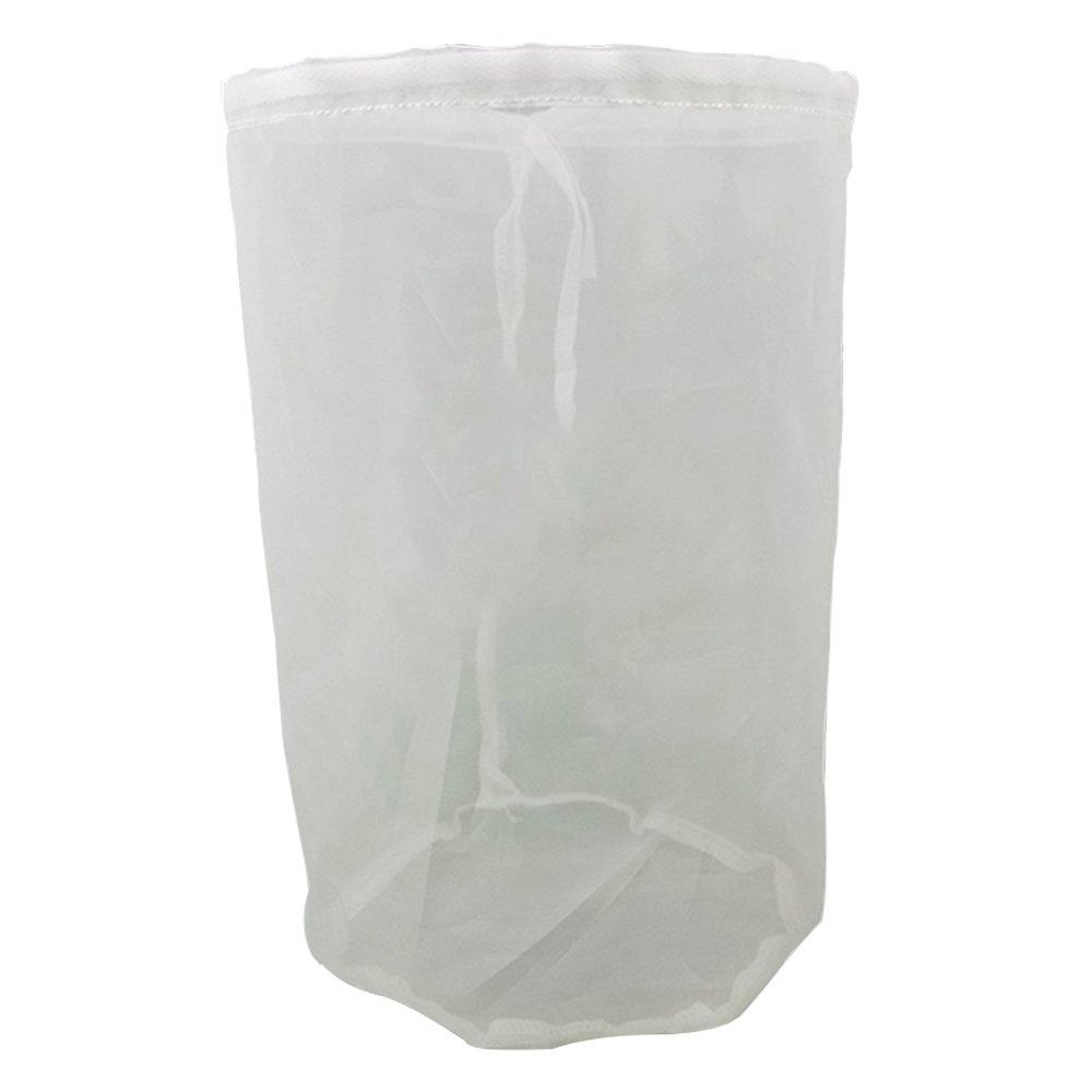 Filter Gazebeutel Eimer Haushalt Lebensmittel Grade Zuhause Brew Maischefilter Zylindrisch Beutel für Wein Bier Werkstattbedarf 19x28cm (7.4