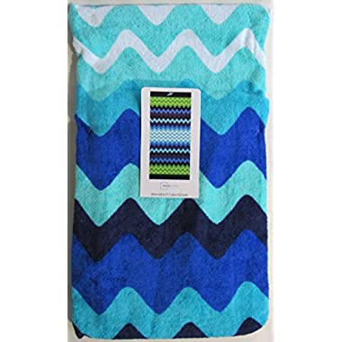 Spring/Summer 2016 Mainstays Beach Towel - 27 x 60 (Cool Chevron)