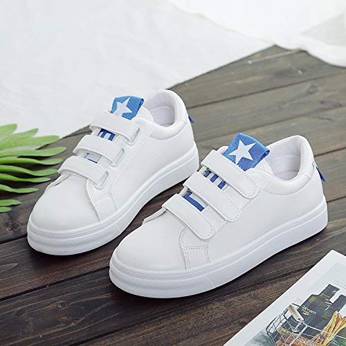 KPHY Shoes White In Sports Shoes Autumn Five Thirty Spring Blue Leisure Shoes Students' And Board rxSrXAq