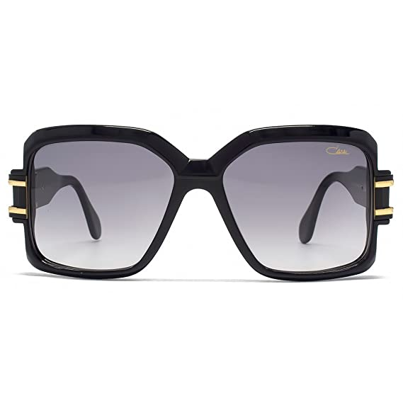 75087949c38 Cazal 623 Sunglasses in Shiny Black Gold 623 3 001 57  Amazon.co.uk   Clothing