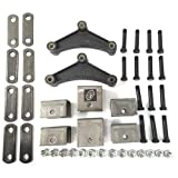 Southwest Wheel Tandem Trailer Axle Hanger Kit for Double Eye Springs (3.5K Axles)