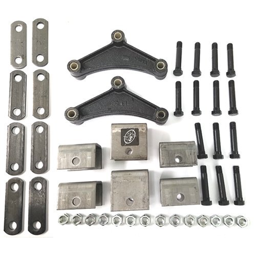 - Southwest Wheel Tandem Trailer Axle Hanger Kit for Double Eye Springs (3.5K Axles)