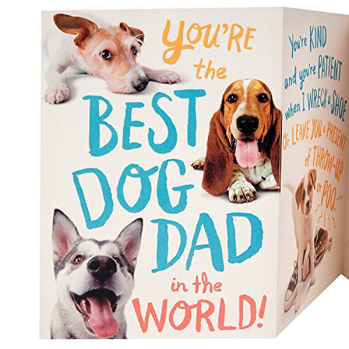 Hallmark Funny Father's Day Greeting Card from the Dog (Dog Dad) Photo #6