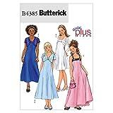 BUTTERICK PATTERNS B4385 Girls'/Girls' Plus