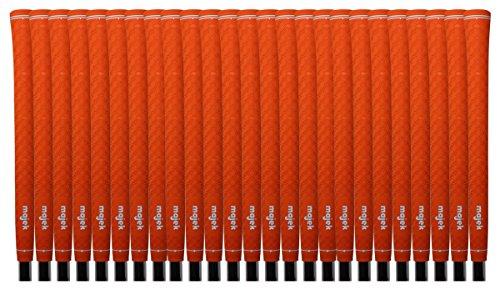 25 Majek Tour Pro Orange Standard Golf Grips by Majek Grips