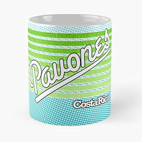 Pavones Costa Rica Surf Spot - 11 Oz White -coffee Mug- Unique Birthday Gift-the Best Gift For Holidays.