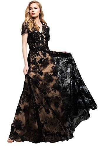 Jovani Evening Fall Ball Gowns Partywear Collection Women's Evening Dress (51477)