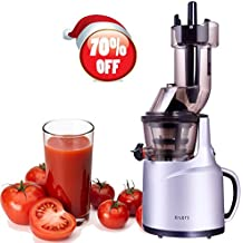Slow Juicer, Wide Mouth Masticating Juicer for Home Appliance, 240W, Quiet Motor