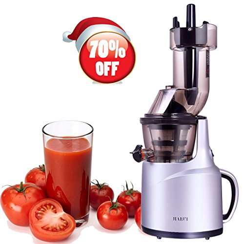 Slow Juicer, Wide Mouth Masticating Juicer for Home Appliance, 240W, Quiet Motor by JQUEEN (Image #7)