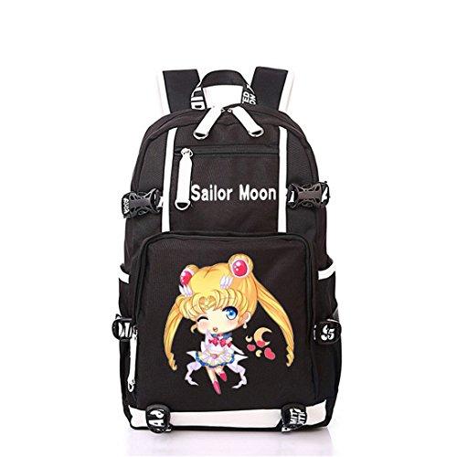 YOYOSHome Anime Sailor Moon Cosplay Bookbag College Bag Daypack Backpack School Bag (2)