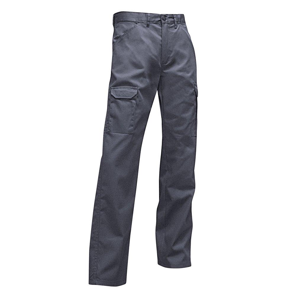mehrfarbig LMA Hose mit Taschen 1261 ARGILE grau//schwarz Kniesch/ützer