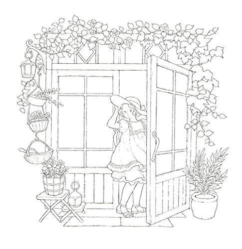 Happy Coloring Book Dream Room Ida Chiaki 9791187113133 Amazon Books