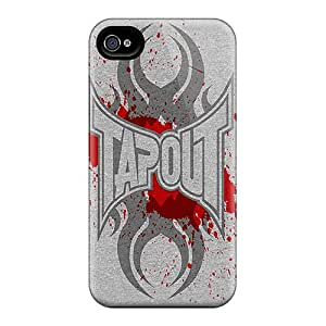 Excellent Hard Phone Cover For Iphone 6plus With Allow Personal Design Colorful Tapout Skin JasonPelletier