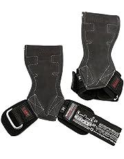 Lifting Grips PRO Weight Gloves Heavy Duty Barbell Gymnastics Straps Alternative to Power Hooks Deadlifts Adjustable Neoprene Padded Wrist Wrap