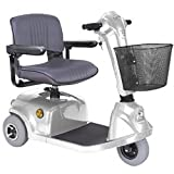 CTM - HS-320 - Mid-Range Travel Scooter - 3-Wheel - Silver