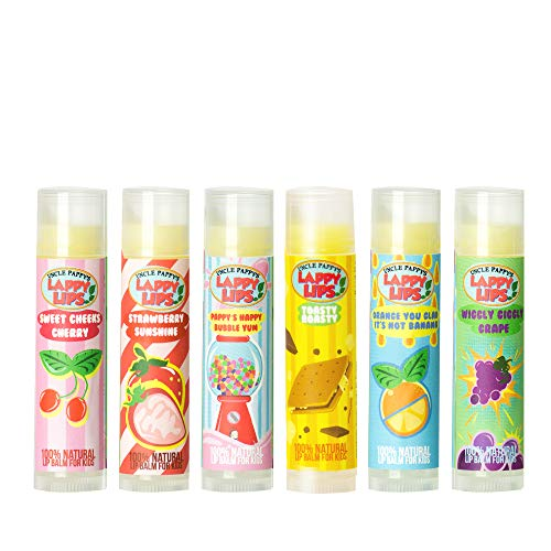 Lappy Lips Certified Organic flavors