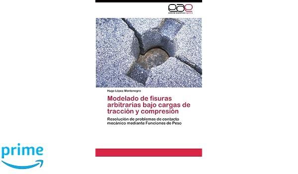 Modelado de fisuras arbitrarias bajo cargas de tracción y compresión: Amazon.es: López Montenegro Hugo: Libros